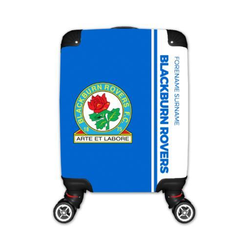 Personalised Blackburn Rovers Crest Kid's Suitcase.