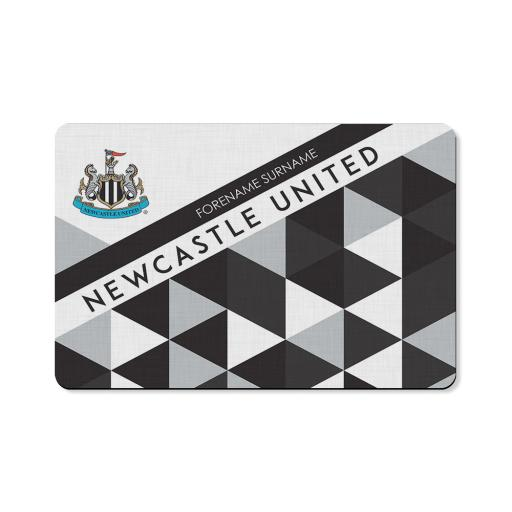 Newcastle United FC Patterned Floor Mat