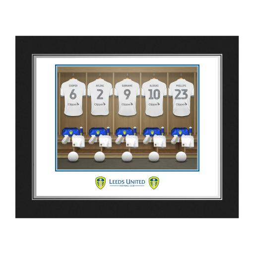 Leeds United FC Dressing Room Photo Folder