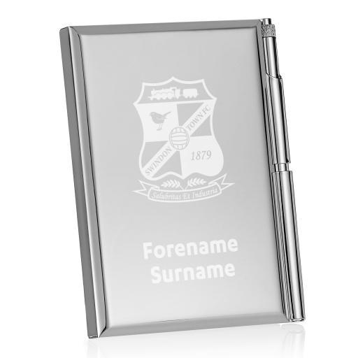 Swindon Town Crest Address Book