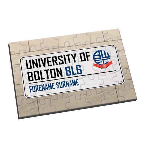 Bolton Wanderers FC Street Sign Jigsaw