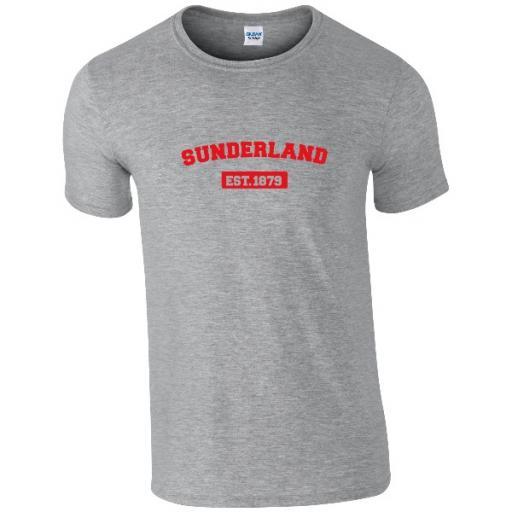 Sunderland AFC Varsity Established T-Shirt