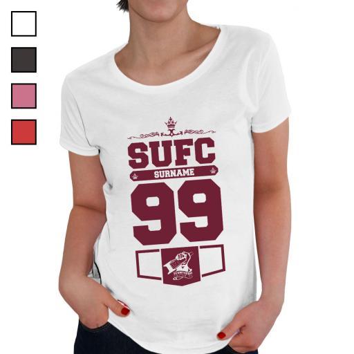 Scunthorpe United FC Ladies Club T-Shirt