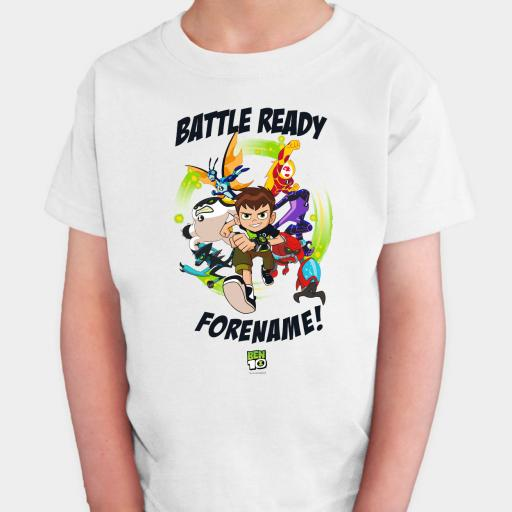 Ben 10 Battle Ready Two Kids T-shirt
