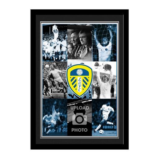 Personalised Leeds United FC Legends Photo Print.