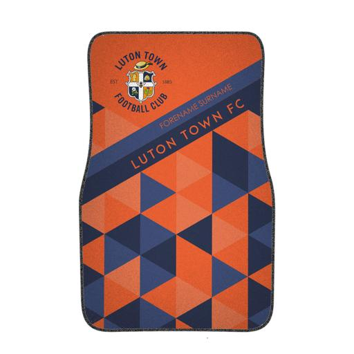 Luton Town FC Patterned Front Car Mat