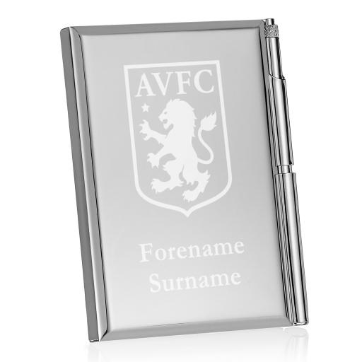 Aston Villa FC Crest Address Book