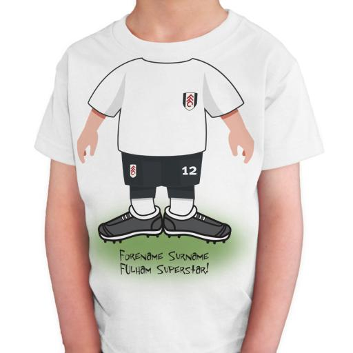 Fulham FC Kids Use Your Head T-Shirt