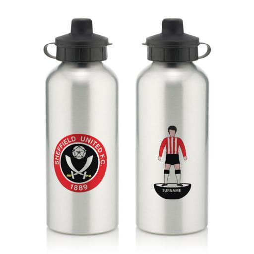 Sheffield United FC Player Figure Water Bottle