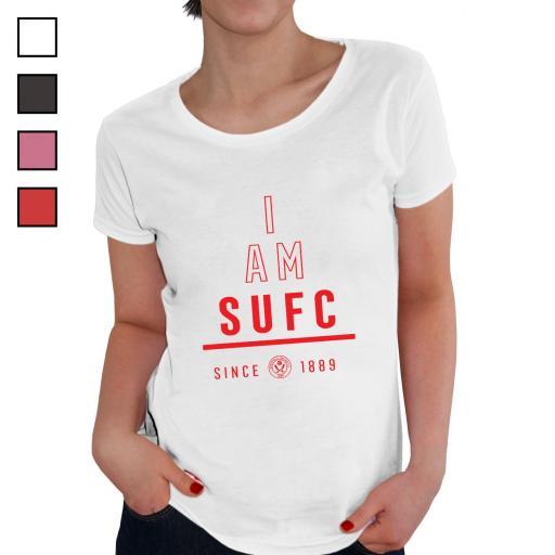 Sheffield United FC I Am Ladies T-Shirt