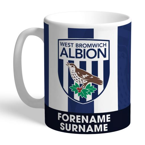 West Bromwich Albion FC Bold Crest Mug