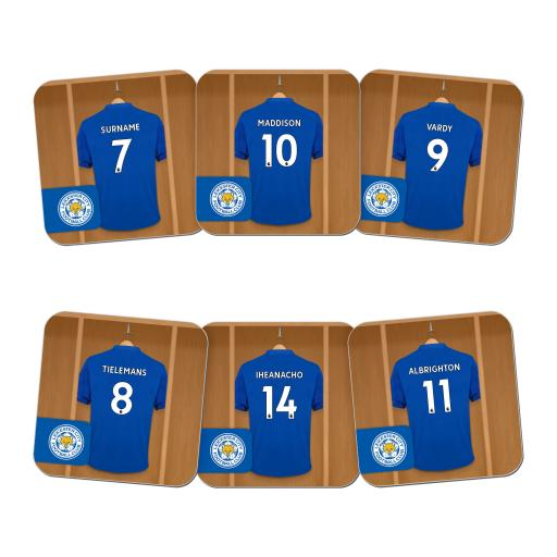 Leicester City FC Dressing Room Coasters