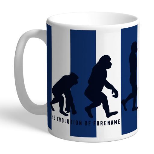 Personalised West Bromwich Albion FC Evolution Mug.