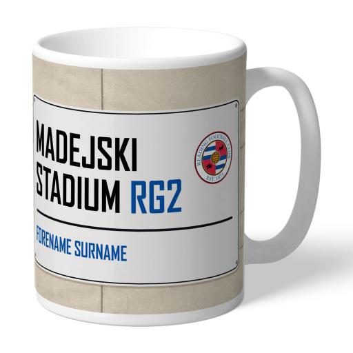 Reading FC Street Sign Mug