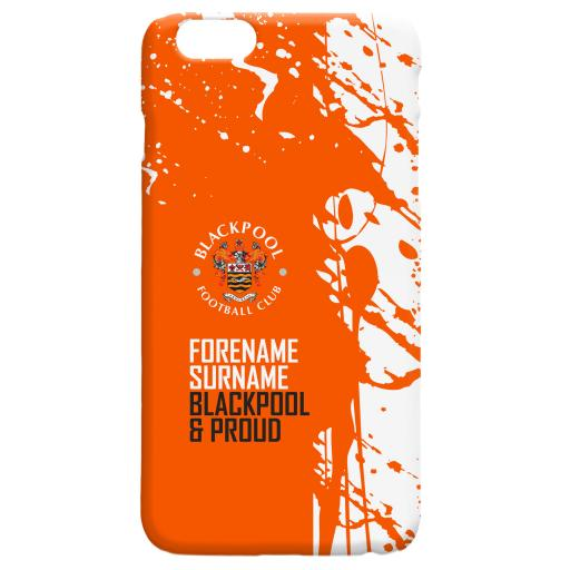 Blackpool FC Proud Hard Back Phone Case