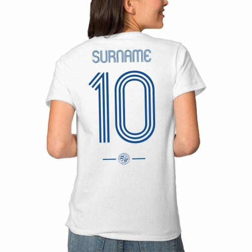 Reading FC Retro Shirt Ladies T-Shirt