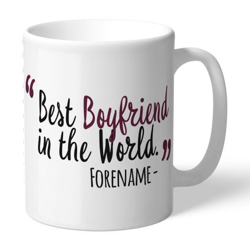Burnley FC Best Boyfriend In The World Mug