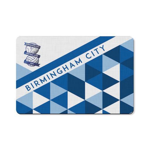 Birmingham City FC Patterned Floor Mat