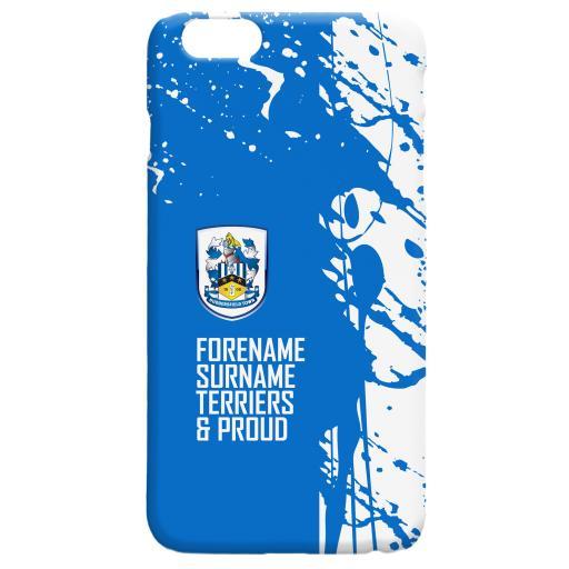 Personalised Huddersfield Town Proud Hard Back Phone Case.