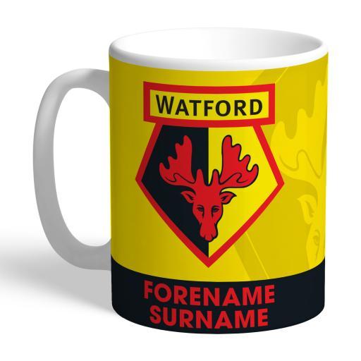 Watford FC Bold Crest Mug