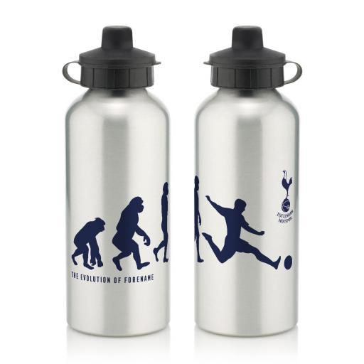 Personalised Tottenham Hotspur Evolution Water Bottle.