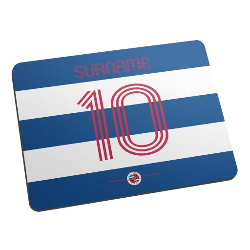 Reading FC Retro Shirt Mouse Mat