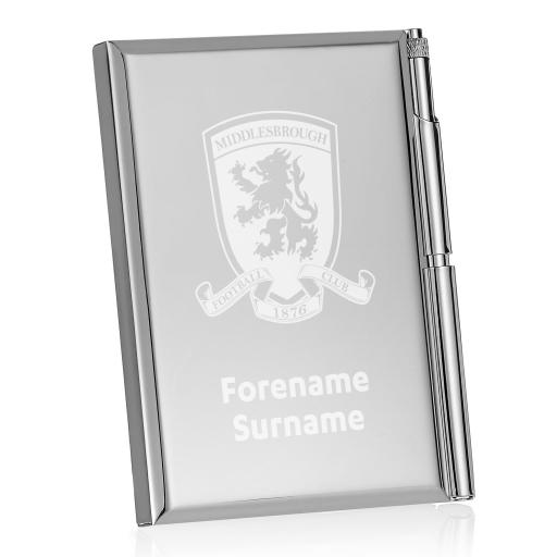 Middlesbrough FC Crest Address Book