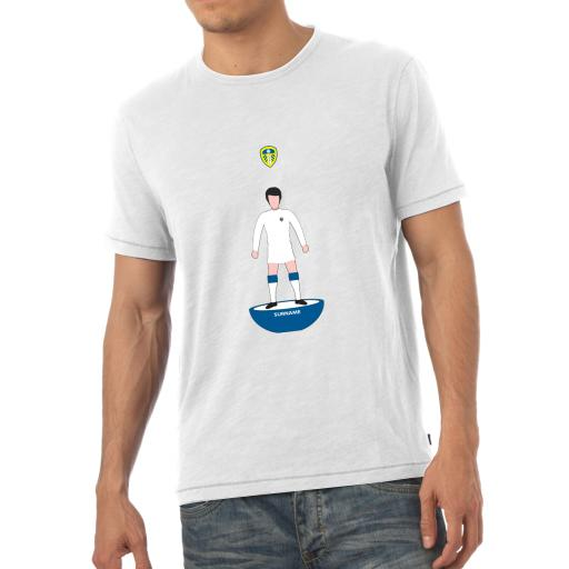 Personalised Leeds United FC Player Figure Mens T-Shirt.