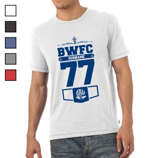Bolton Wanderers FC Mens Club T-Shirt