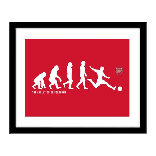 Arsenal FC Evolution Print
