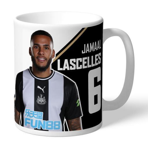 Newcastle United FC Lascelles Autograph Mug