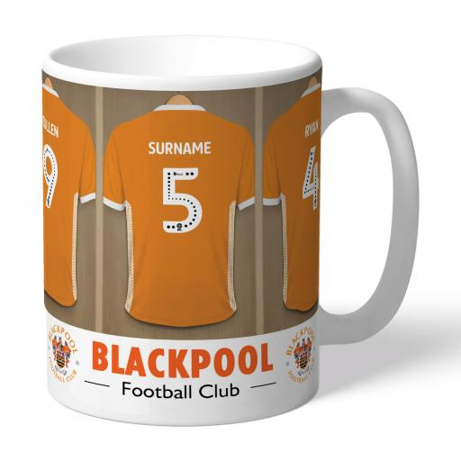 Blackpool FC Dressing Room Mug