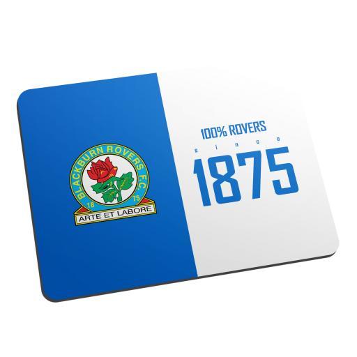 Blackburn Rovers FC 100 Percent Mouse Mat