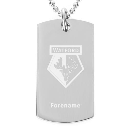 Watford FC Crest Dog Tag Pendant