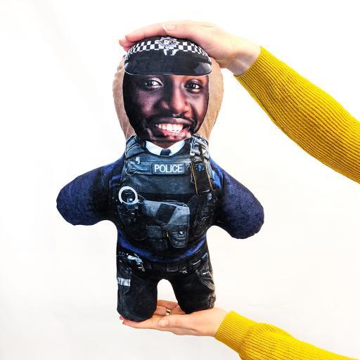 Police Man - Skin Tone - B - MINI ME