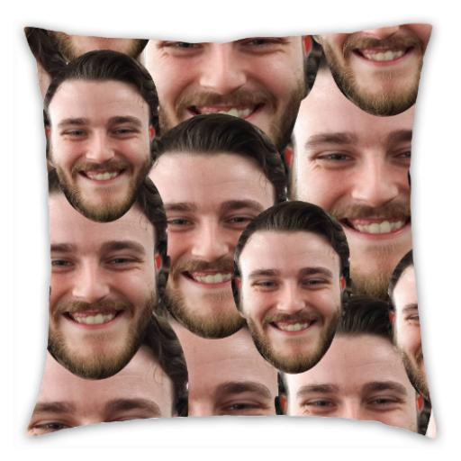 Multi Face Photo Upload Cushion