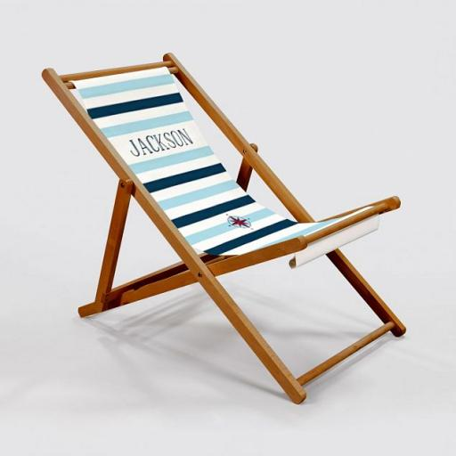 Adult Nautical Deck Chair