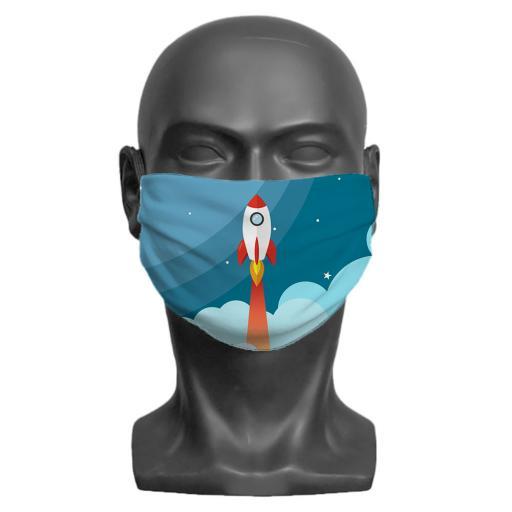 Childrens Face Mask - Photo Upload