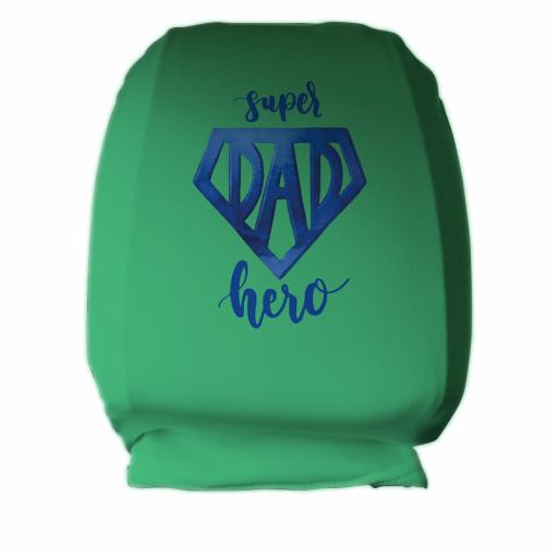 Super Dad Hero - Headrest Cover