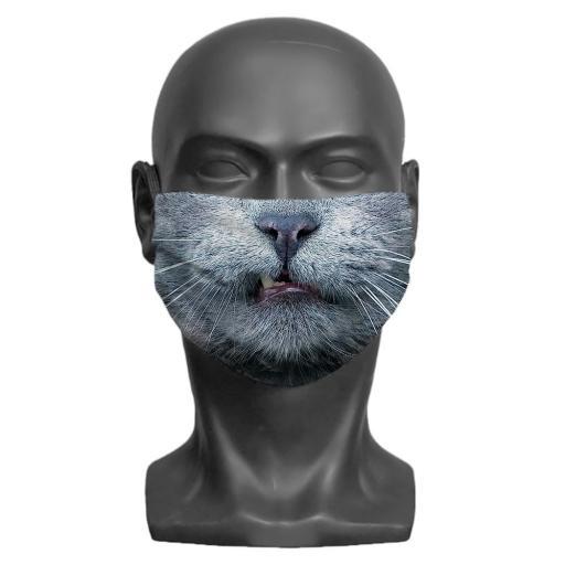 Cat Adult Face Mask