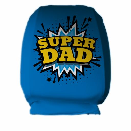 Super Dad Comic - Headrest Cover