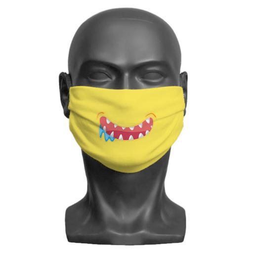 Little Monster Children's Face Mask (Yellow)