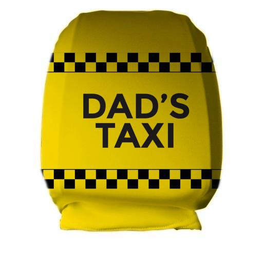 Dads Taxi - Headrest Cover