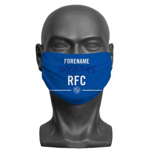 Reading FC Breathes Adult Face Mask (Medium)