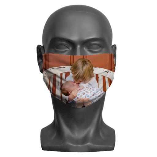 Adult Face Mask - Photo Upload