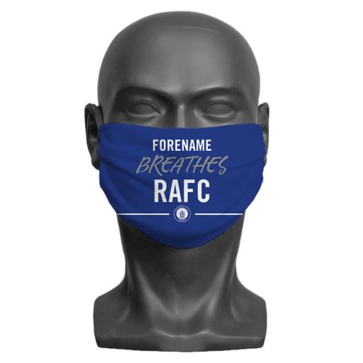 Rochdale AFC Breathes Adult Face Mask (Medium)