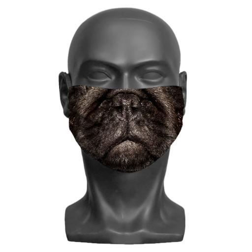 Pug Adult Face Mask