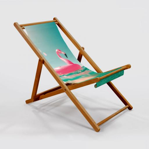 Photo Upload Deck Chair