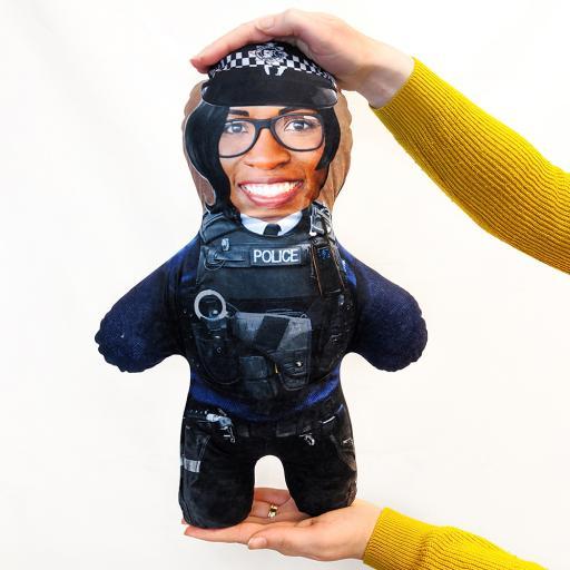 Police Woman - Skin Tone - B - MINI ME