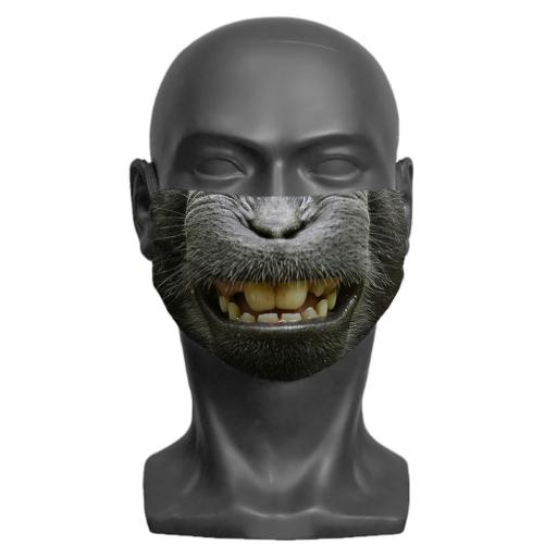 Macaque Adult Face Mask